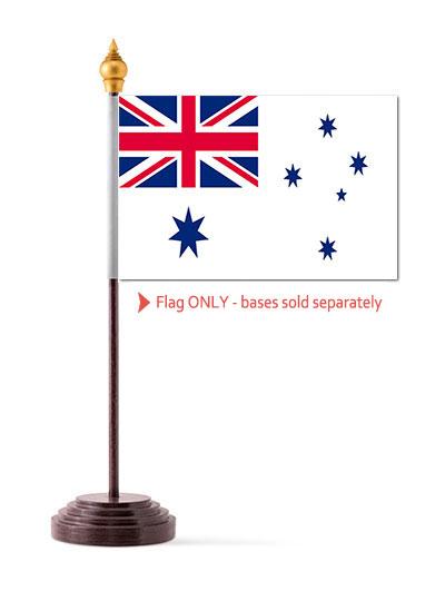 Australian Naval White Ensign Table Flag