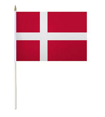 Denmark Hand Waver Flag