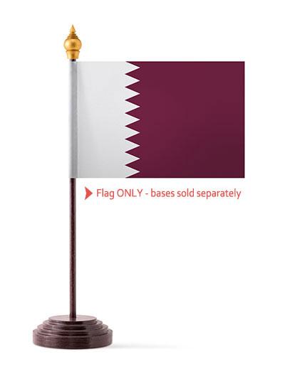 Qatar Table Flag