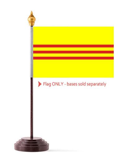 Vietnam Table Flag 4 x 6 inch