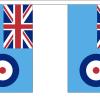 UK Britain RAF Bunting Flags