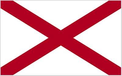 Alabama State Flag - 150 x 90cm