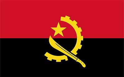 Angola World Country Flag