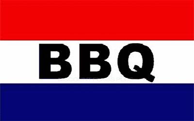 BBQ Flag 150 x 90cm