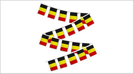 Belgium String Bunting Flags
