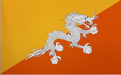 Bhutan Flag 150 x 90cm