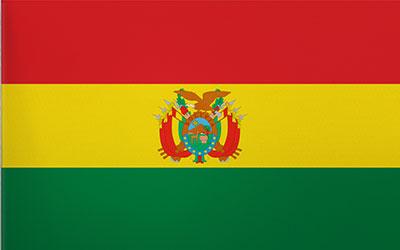 Bolivia Decal Flag Sticker 13 x 9cm
