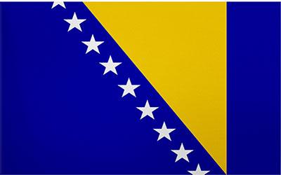 Bosnia-Herzegovina Decal Flag Sticker 13 x 9cm
