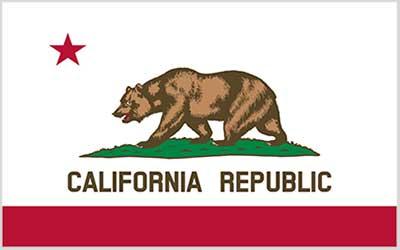 California Republic State Flag - 150 x 90cm
