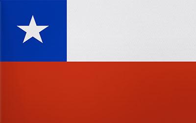 Chile Flag 60 x 90cm
