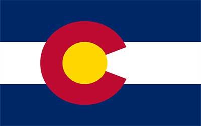 Colorado State Flag - 150 x 90cm
