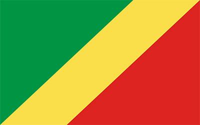 Congo Republic National Flag 150 x 90cm