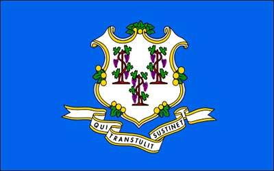 Connecticut State Flag - 150 x 90cm