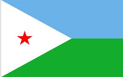 Djibouti National Flag 150 x 90cm