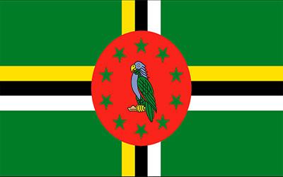 Dominica National Flag 150 x 90cm