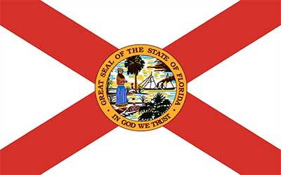 Florida State Flag - 150 x 90cm