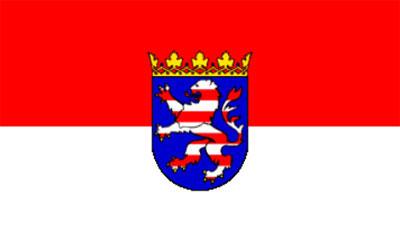 German Hesse Flag 150 x 90cm