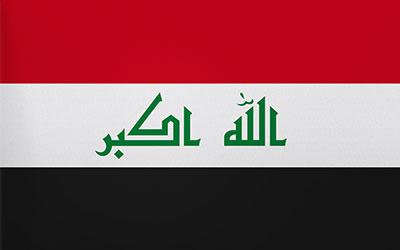 IRAQ (New) National Flag 150 x 90cm