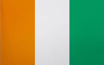 Ivory Coast National Flag 150 x 90cm