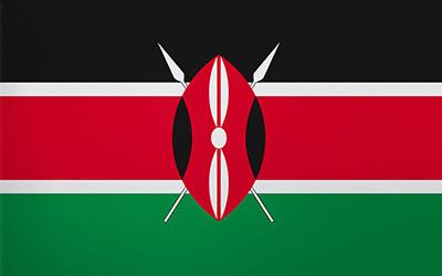 Kenya National Flag 150 x 90cm