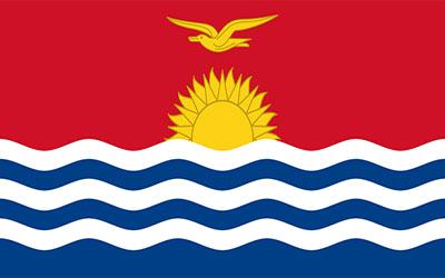 Kiribati Trilobal Flag - Heavy Duty 180 x 90cm
