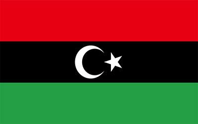 Kosovo Libya Flag 150 x 90cm