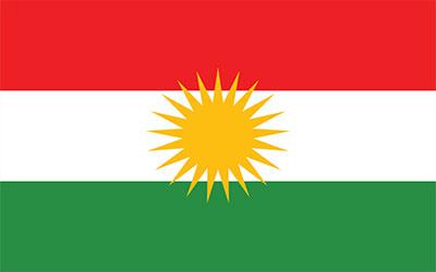 Kurdistan National Flag 150 x 90cm
