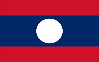 Laos National Flag 150 x 90cm