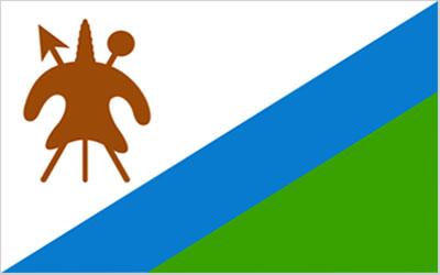 Lesotho National Flag 150 x 90cm