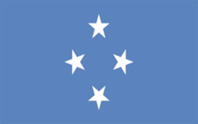 Micronesia Flag 150 x 90cm