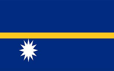 Nauru Flag 150 x 90cm