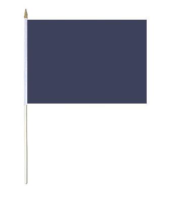 Navy Blue Hand Waver Flag