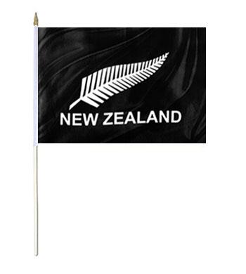 New Zealand Fern Hand Waver Flags