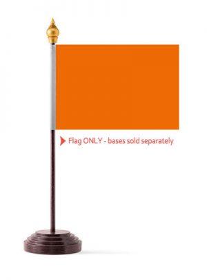 Orange Table Flags
