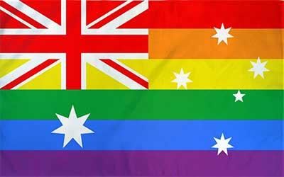 Australia Rainbow Flag 150 x 90cm