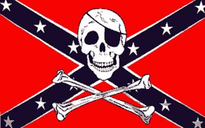 Rebel Pirate With Skull And Cross Bones Flag 150 x 90cm
