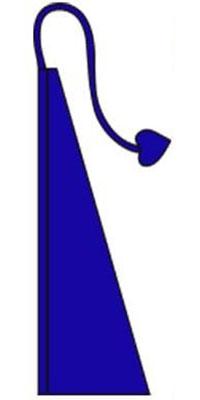 Wind Dancer Flag Sapphire Blue