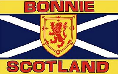 Bonnie Scotland Flag 150 x 90cm