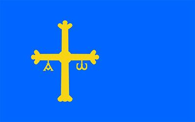 Spain Asturias Flag 150 x 90cm
