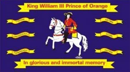 King William Of Orange Flag