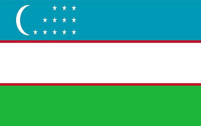 Uzbekistan National Flag 150 x 90cm