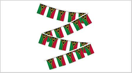Vanuatu String Bunting Flags