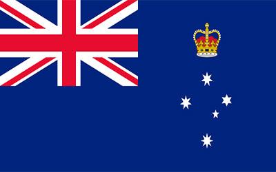 Victoria State Flag 150 x 90cm