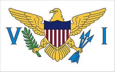 Virgin Islands (USA) Flag 150 x 90cm