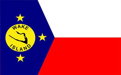 Wake Island Flag 150 x 90cm