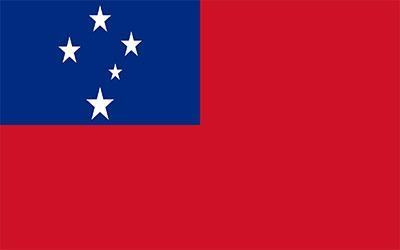 Western Samoa National Flag 150 x 90cm